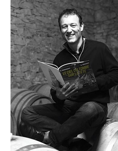 Guilhem Viau, viticulteur à Valflaunès