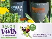 Exhibition Vins et Terroir, from 4 to 6 November 2016